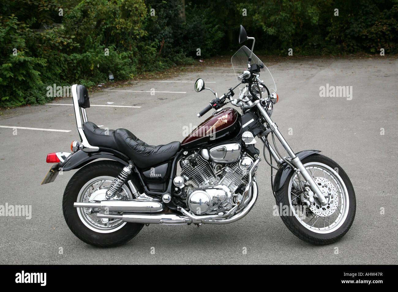 a yamaha virago 1100 motorcycle stock photo royalty free. Black Bedroom Furniture Sets. Home Design Ideas