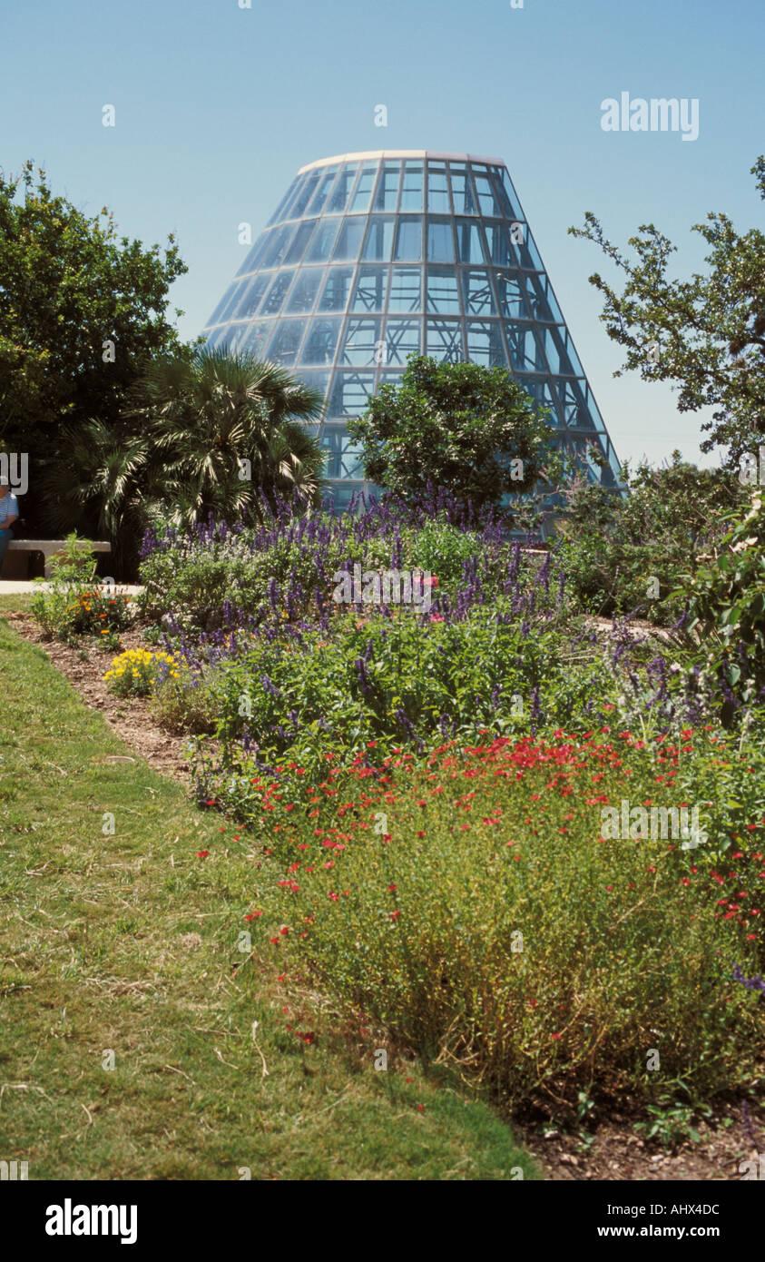 San Antonio Texas USA Botanical Garden Conservatory