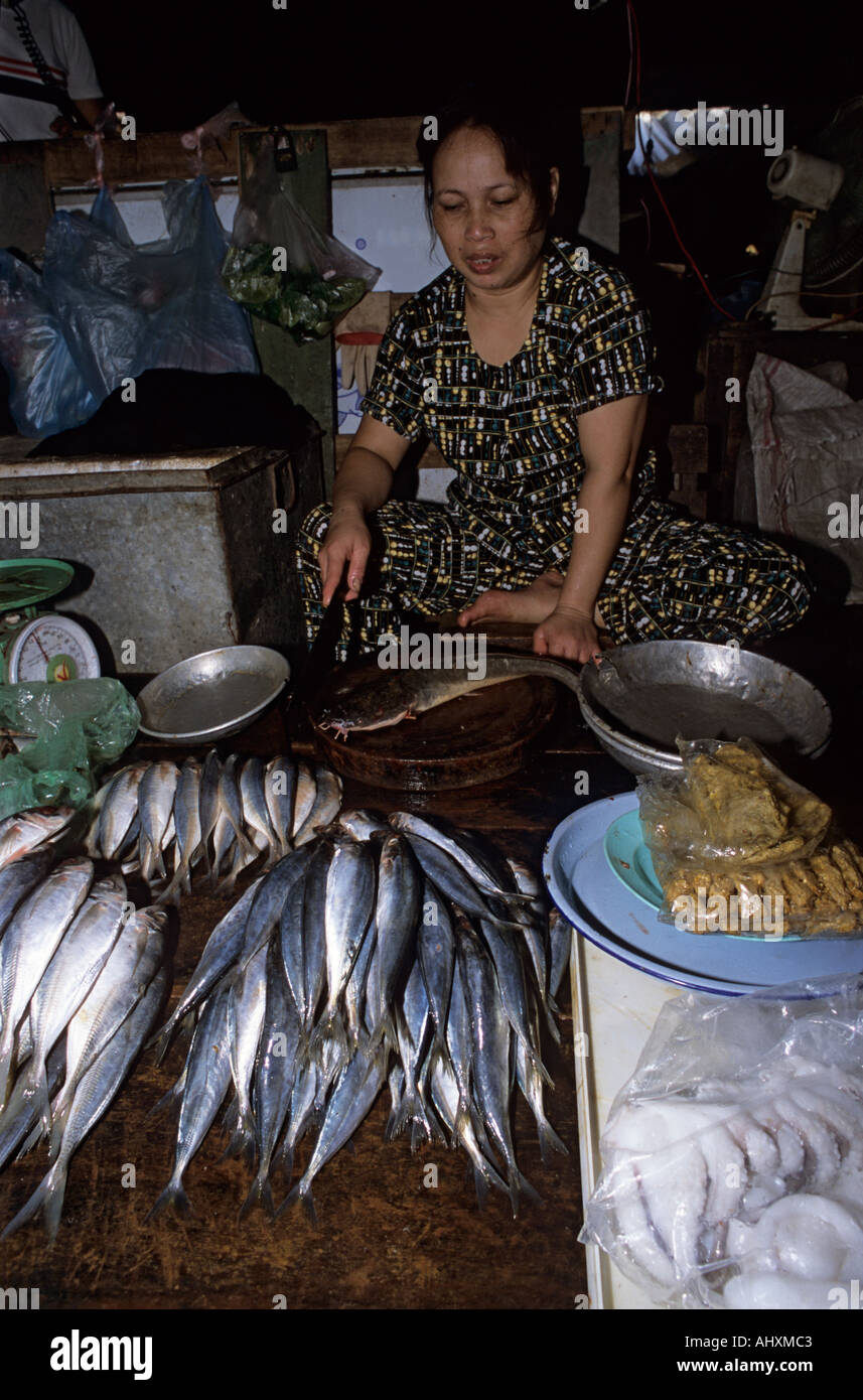 Freshwater fish marketing corporation - Vietnam Hanoi Freshwater Fish For Sale In Cho Buoi Market Stock Image