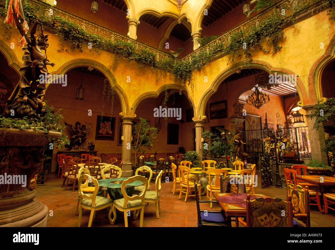 Casa De Los Cincos Patios, Mexican Restaurant, Mexican Food And Drink,  Mexican Food, Santiago De Queretaro, Queretaro, Queretaro State, Mexico