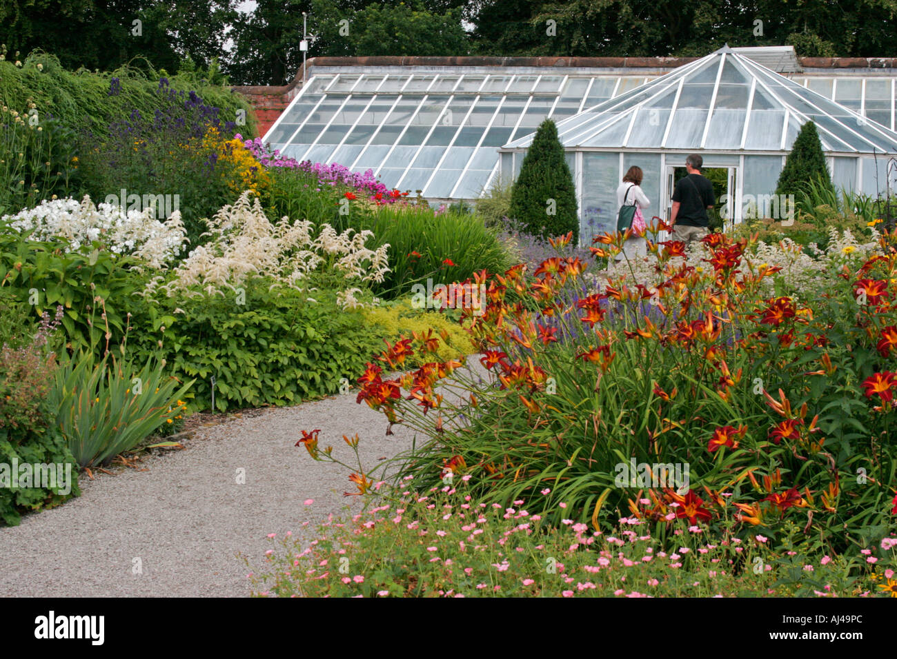 Threave Gardens Near Castle Douglas In Dumfries And
