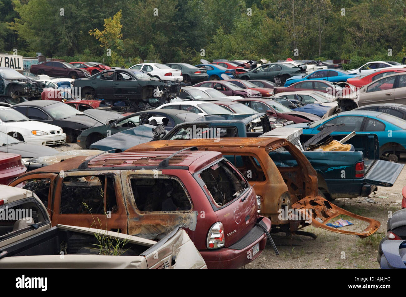 Cars Parts Salvage Yard Indiana
