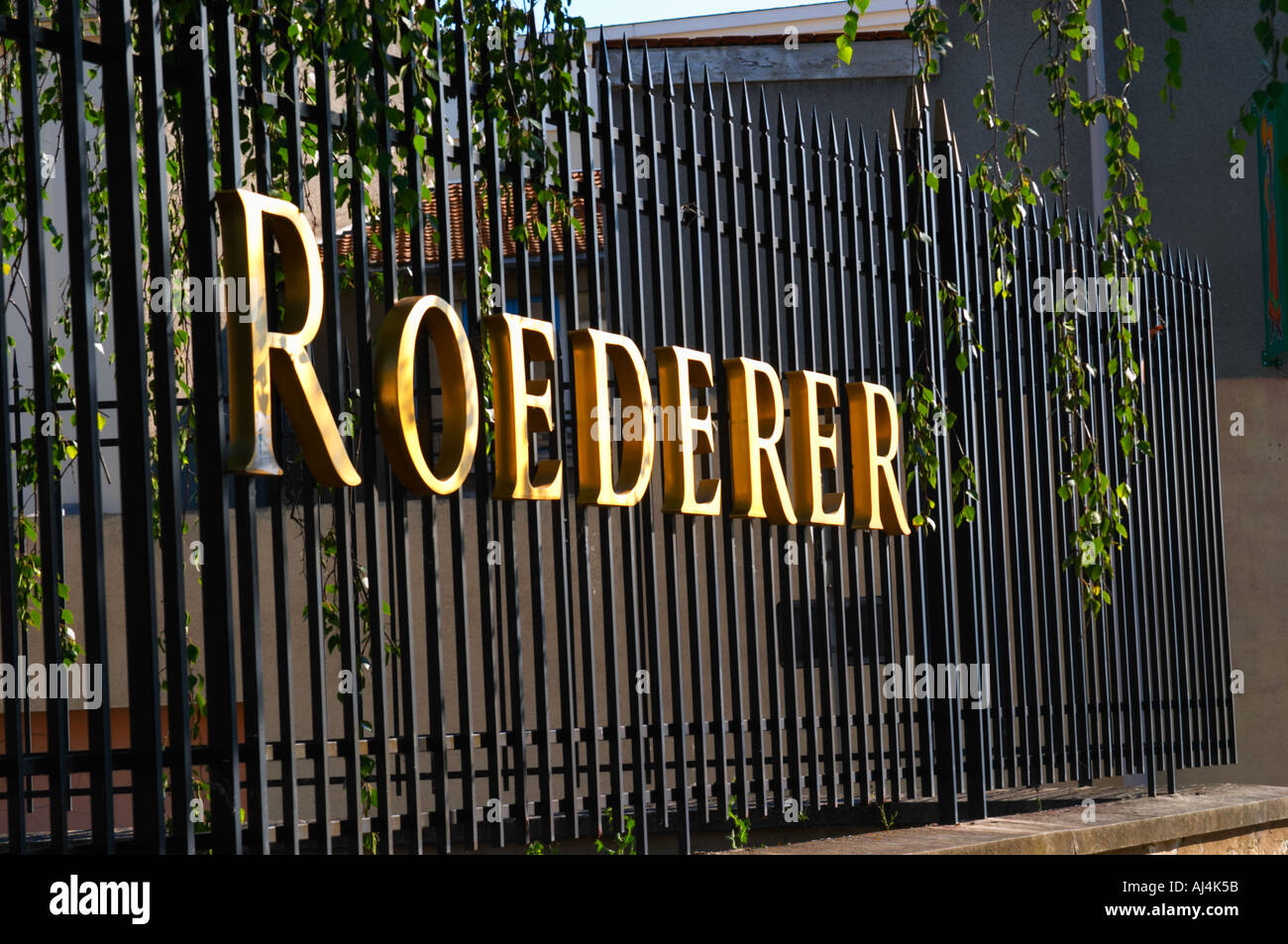 Wrought Iron Letters For Signs Wrought Iron Fence With Golden Letters Shining In The Setting Sun