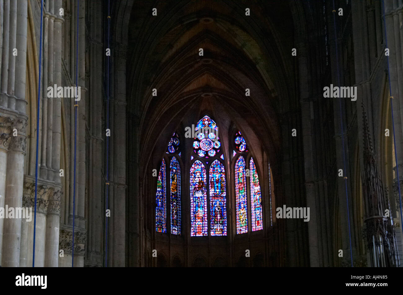 Reims Cathedral Stained Glass Windows
