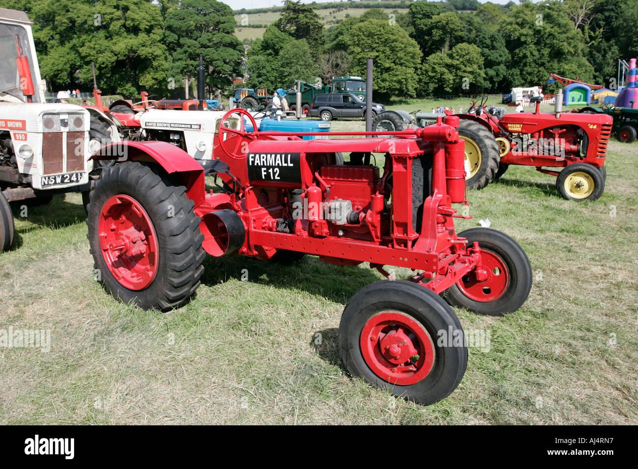 Farmall F 12 : Mccormick deering farmall f classic tractor during
