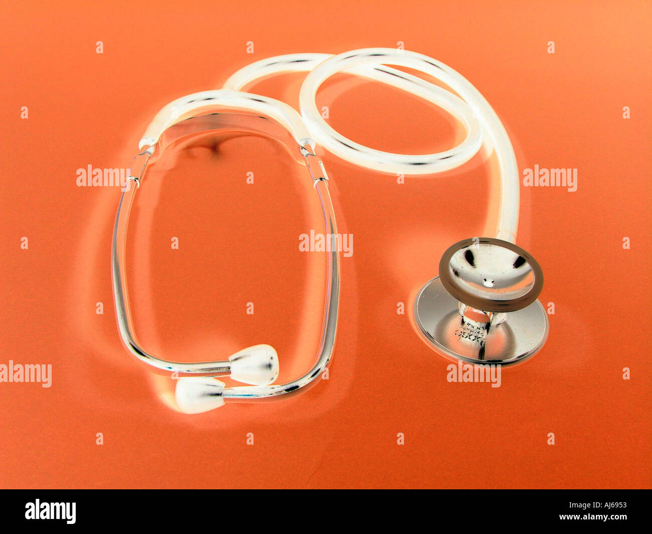 Stethoscope Is Standard For Doctors And Symbol For Physicians And