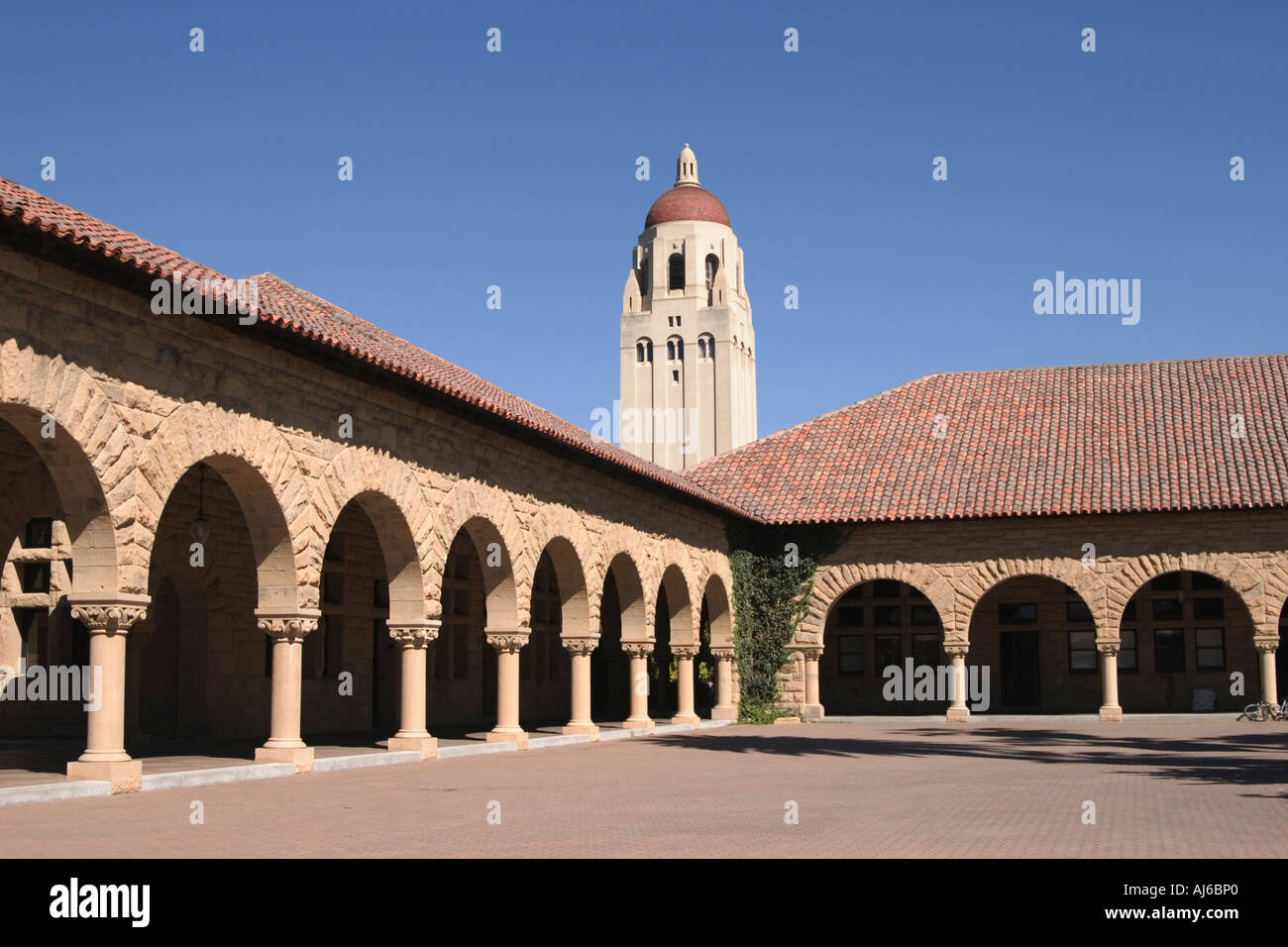 California Mission Style Architecture At Stanford