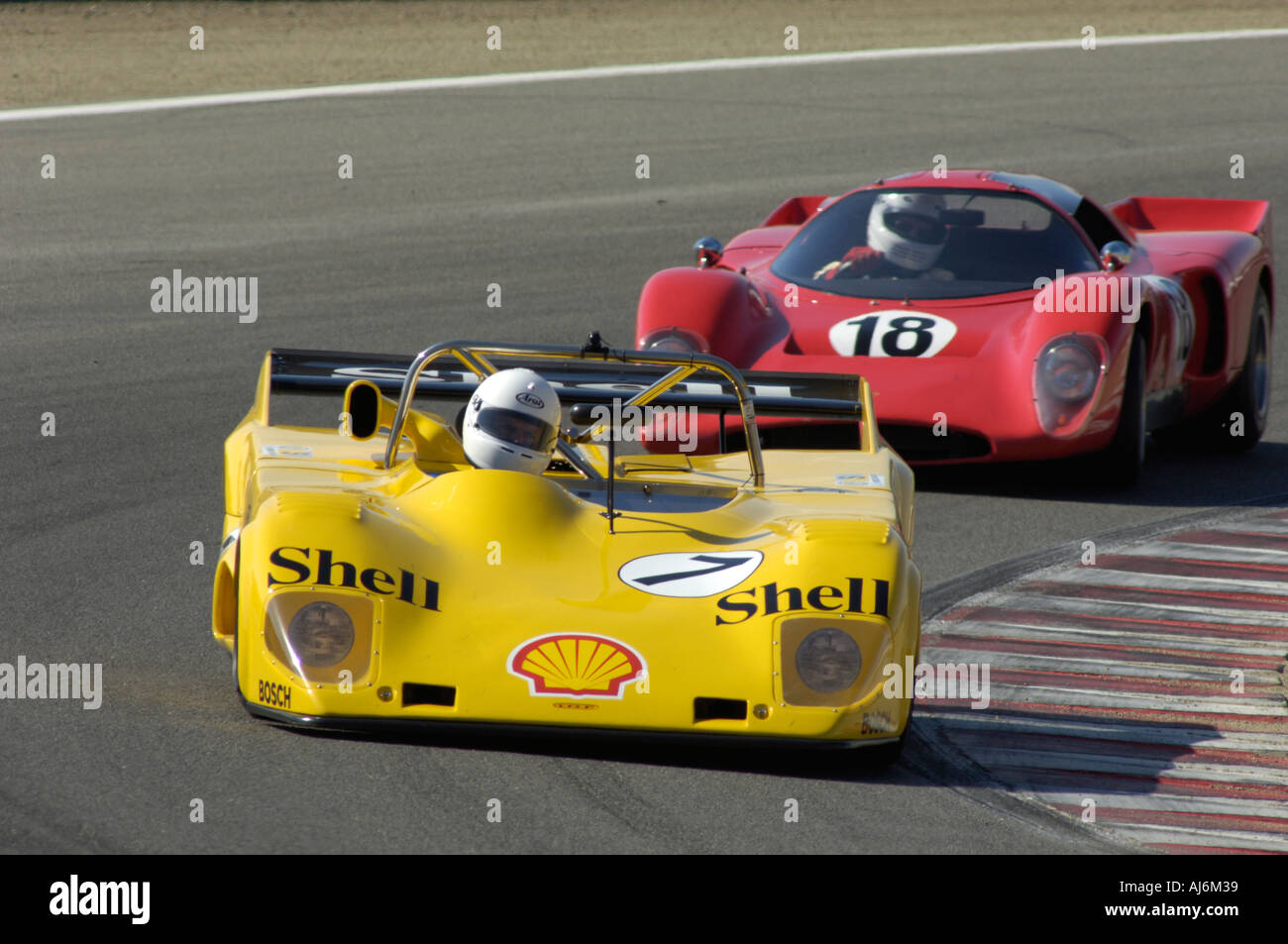 Jamey Mazzotta races his 1973 Lola T 294 at the 32nd Rolex ...