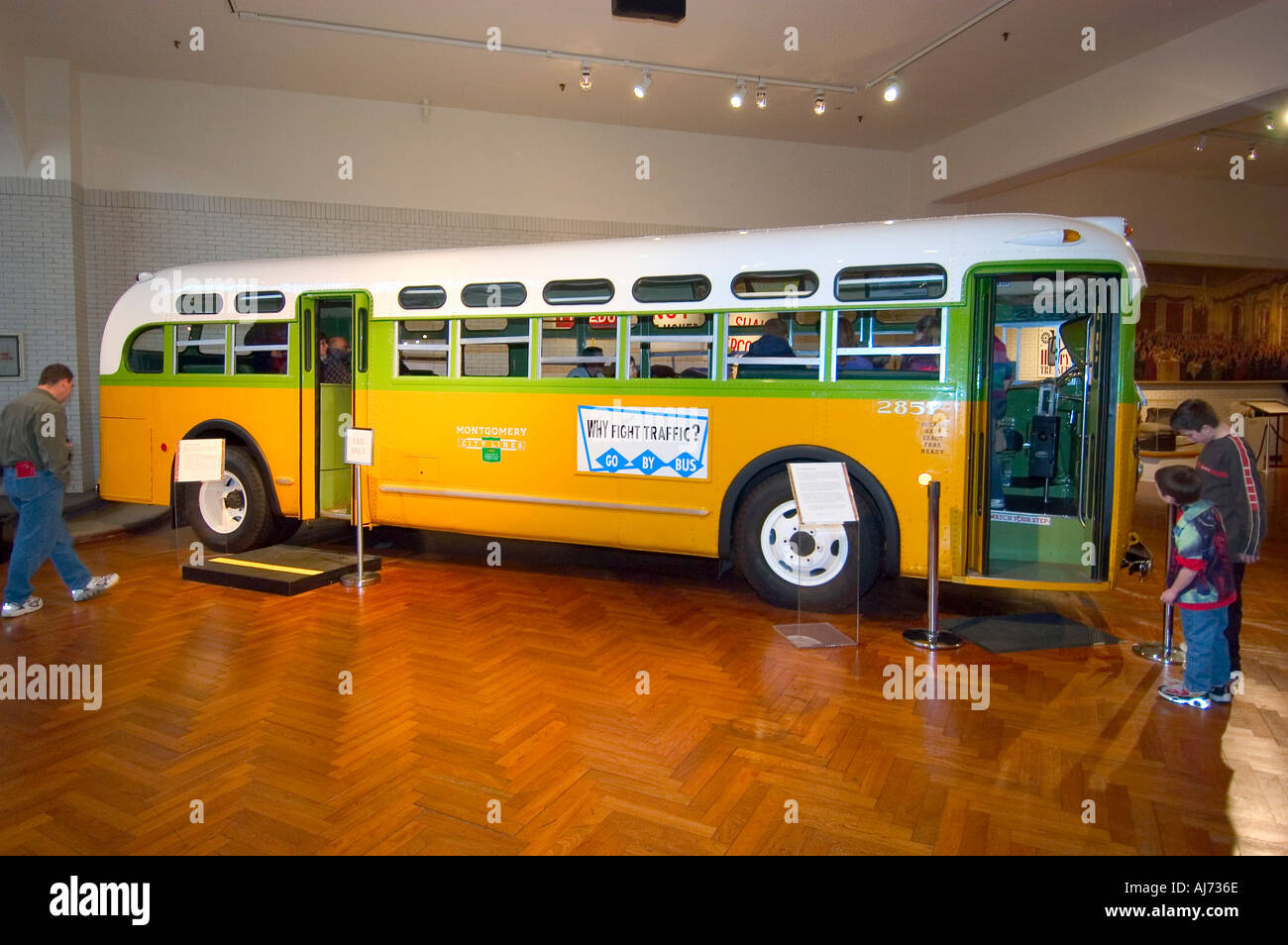 Rosa Parks Bus Henry Ford Museum Greenfield Village Dearborn