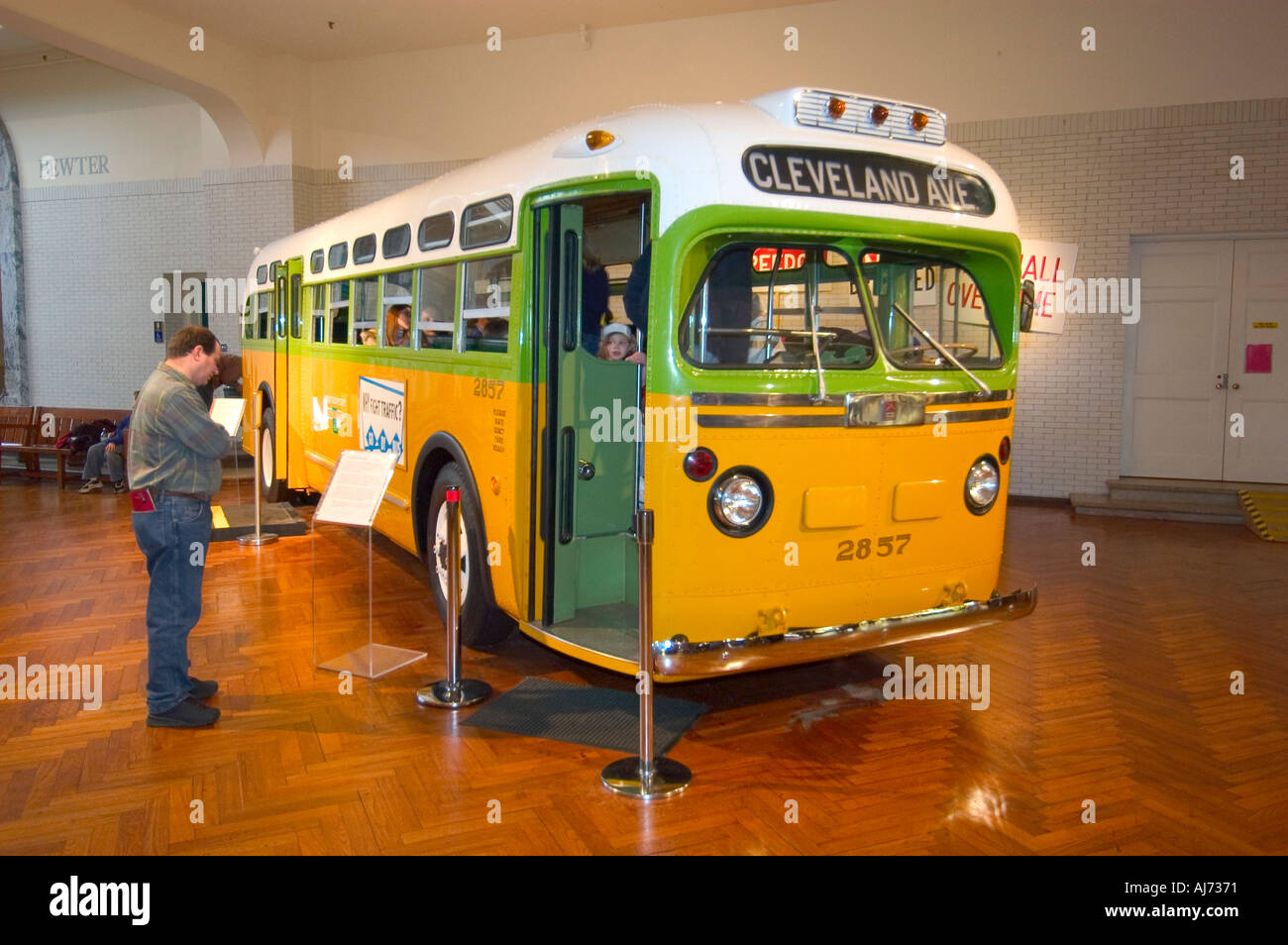 Henry ford museum at greenfield village dearborn michigan and the bus rosa parks refused to sit