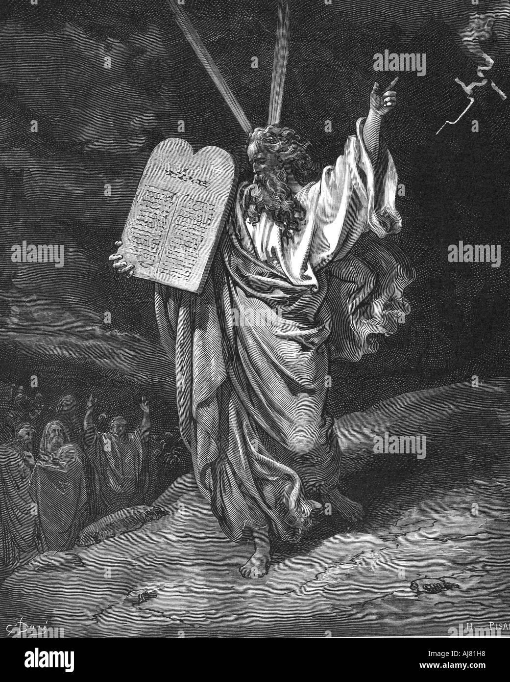 10 commandments tablets moses