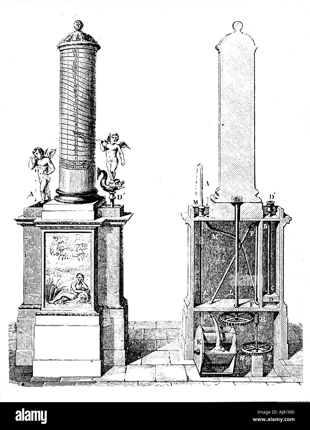 a history of clepsydra a water clock Clepsydra clepsydra, latin, from greek klepsudra : kleptein, kleps-, to steal + hudōr water, was an horological instrument of great antiquity, among the egyptians and other eastern nations, probably before sun-dials were invented though the name of the original inventor is not handed down to us  the construction has been varied in different ages and countries, according to the variation of.