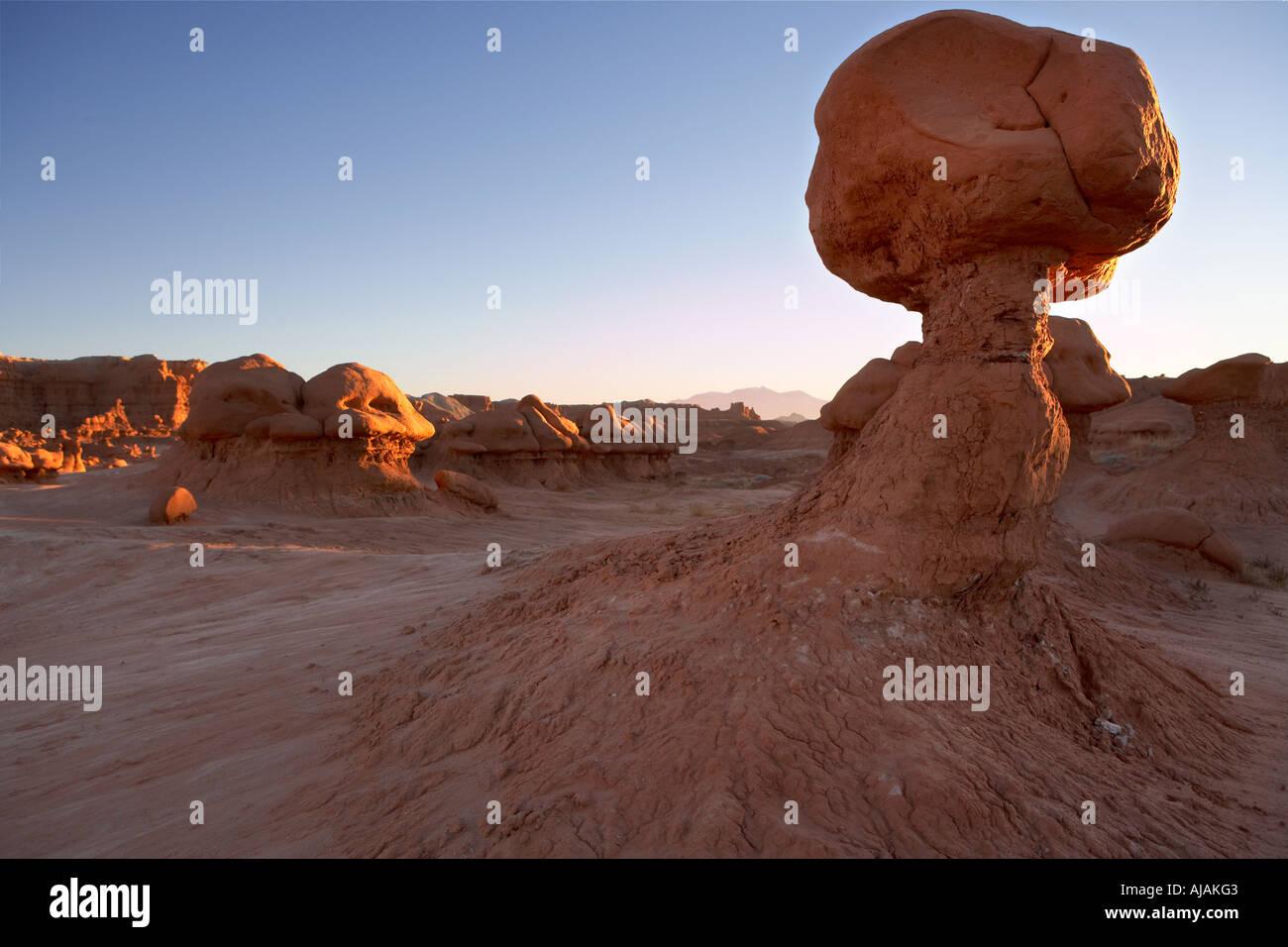 Usa utah desert goblin valley state park red rock for Landscaping rocks tooele utah