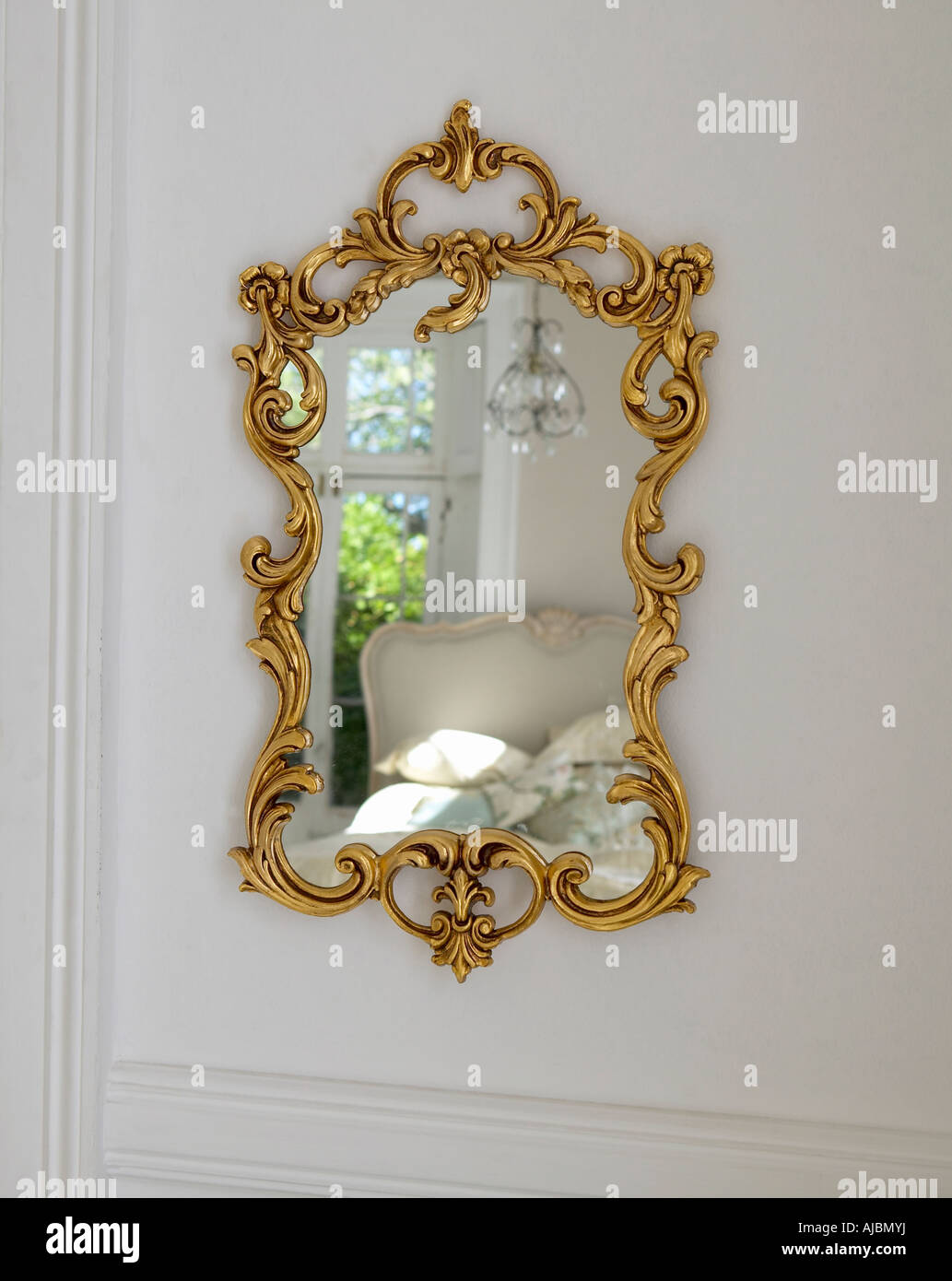 Baroque mirror on a wall stock photo royalty free image 14686661 baroque mirror on a wall amipublicfo Gallery