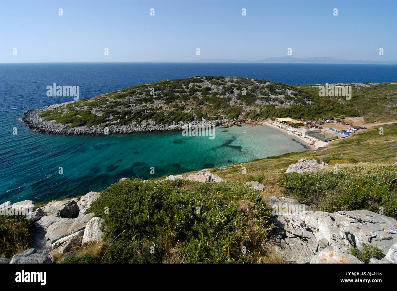 Livadaki Beach Samos Stock Photo, Royalty Free Image ...