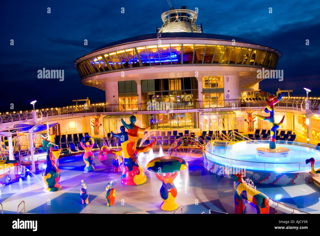 Liberty Of The Seas Largest Cruise Ship In The World Stock Photo - Liberty of seas