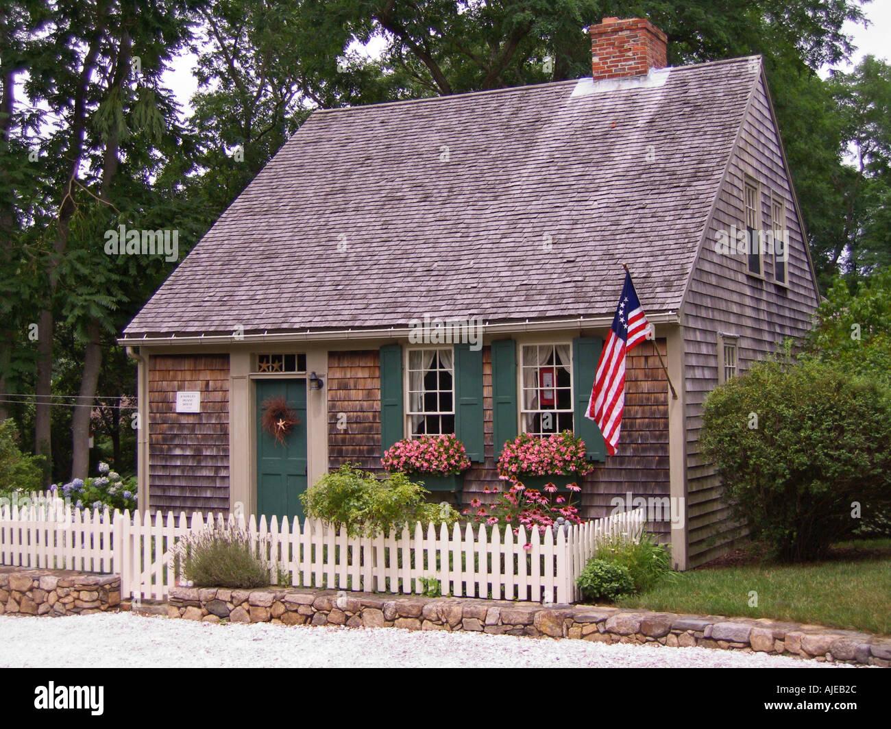 Historic Cape Cod House Colors Plan 2017