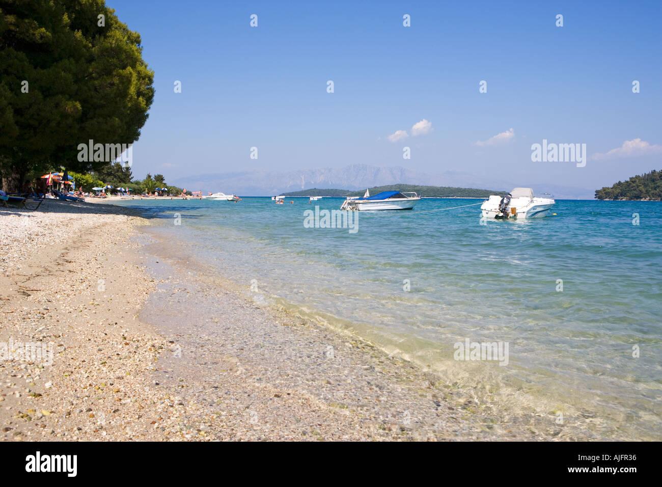 Nidri Beach Lefkada Greece