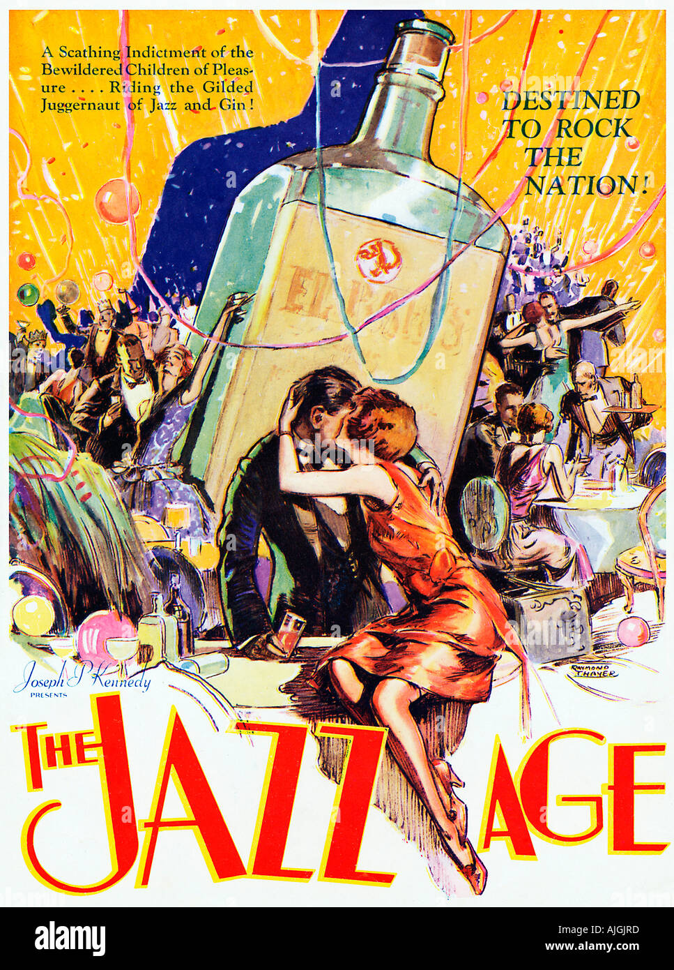 The Jazz Age, 1929 movie poster, A Scathing Indictment of the ...