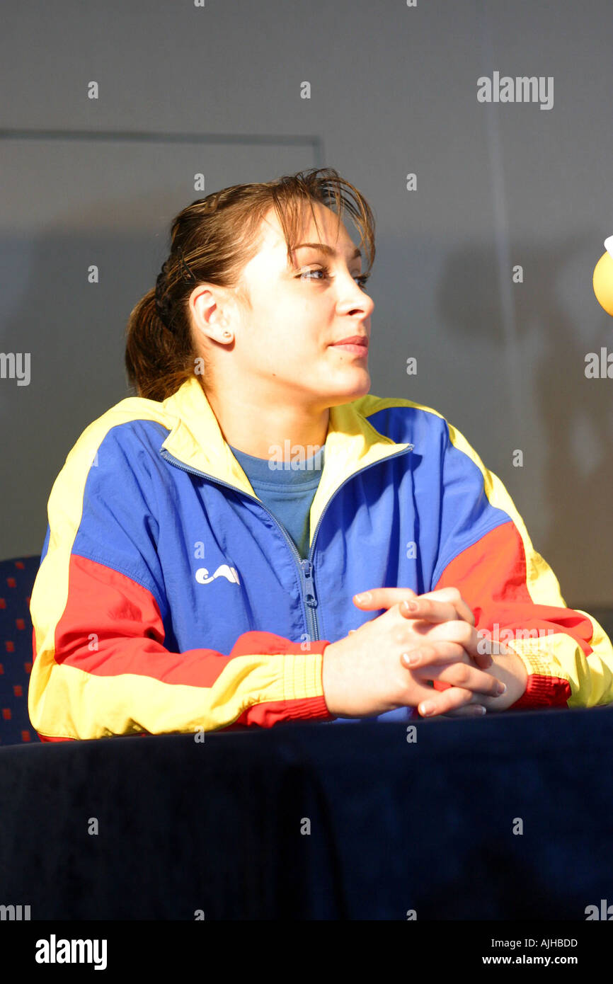 Romanian Women Gymnast Catalina Ponor 97