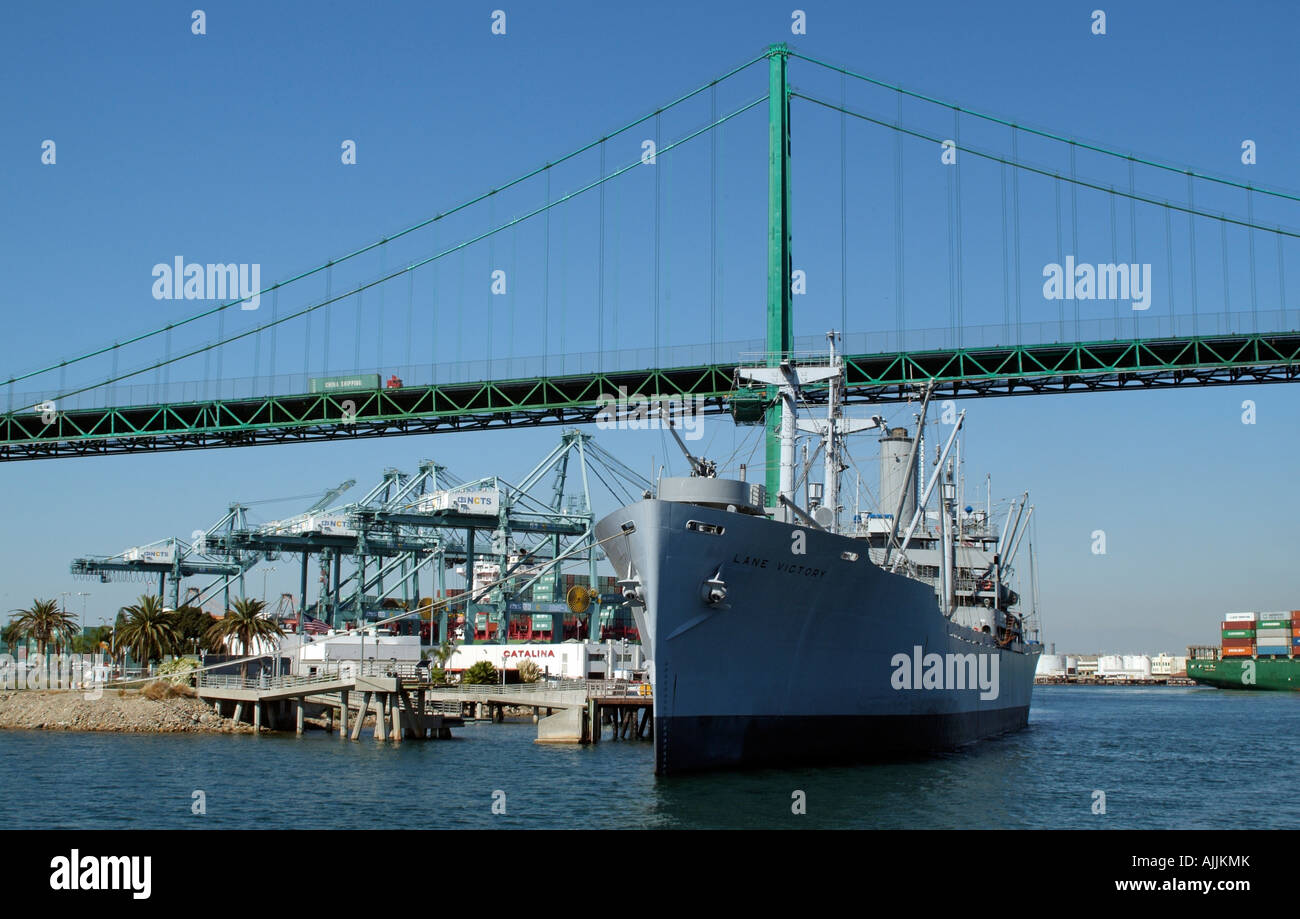 SS Lane Victory A WWII US Navy Cargo Ship Now A Floating Maritime - Ship museums in us