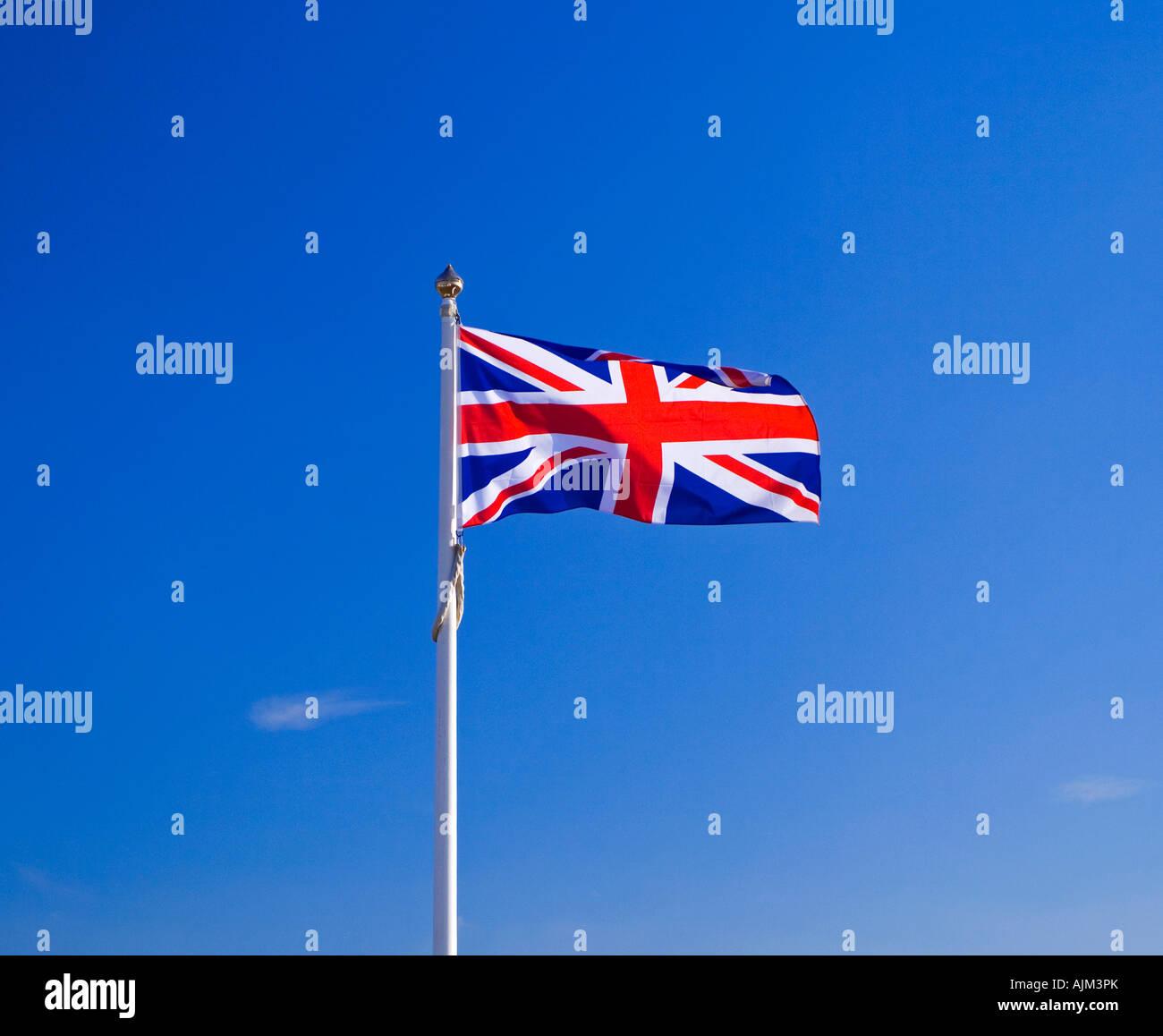 union flag of the united kingdom of england scotland wales and