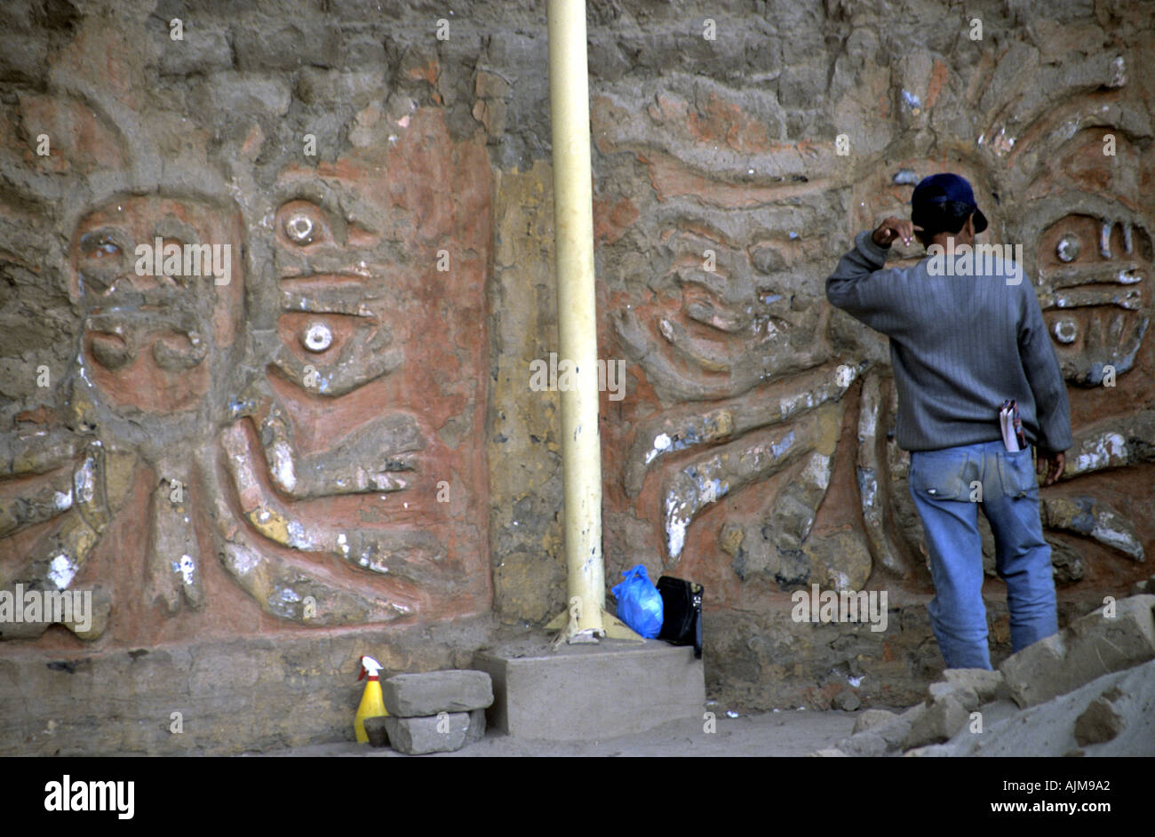 Who is a archeologist that came from South America?