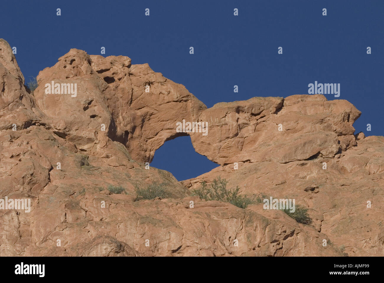 Kissing Camels Rock Formation Garden Of The Gods Colorado Springs Stock Photo Royalty Free