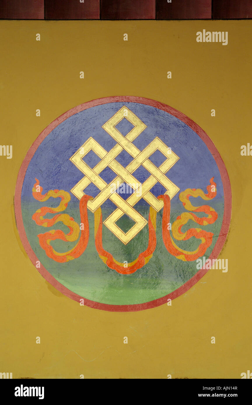 Auspicious buddhist symbol india stock photos auspicious eighth auspicious symbols mural painting in stok monastery ladakh india stock image biocorpaavc Gallery