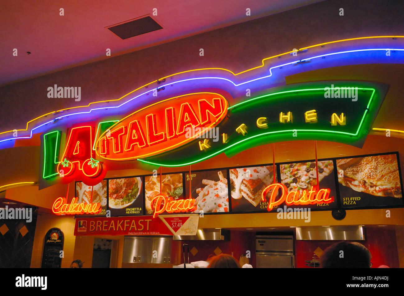 Las Vegas pizza la tira
