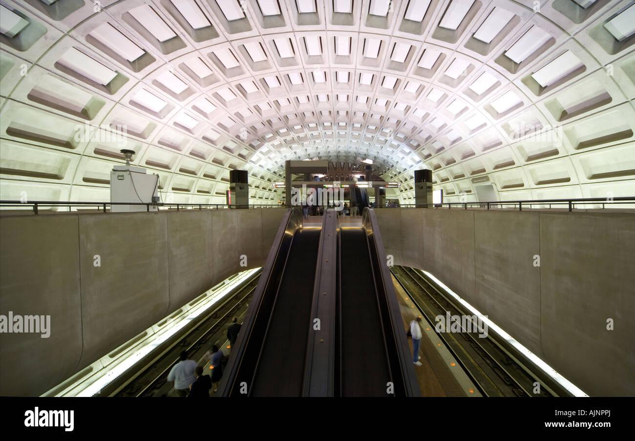 washington dc gallery place chinatown metro subway station with stock photo  royalty free image