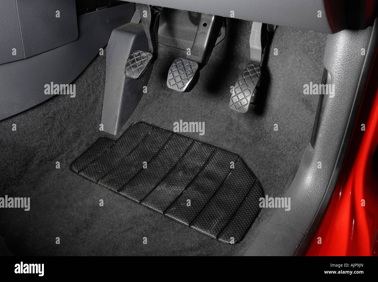 2003 volkswagen polo sdi foot pedals stock photo royalty free image 14786348 alamy. Black Bedroom Furniture Sets. Home Design Ideas