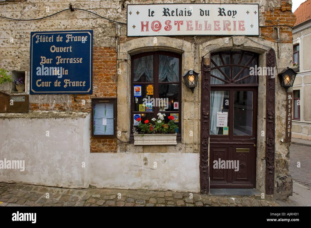 Montreuil sur mer hotel le relais du roy in france stock - Office du tourisme de montreuil sur mer ...