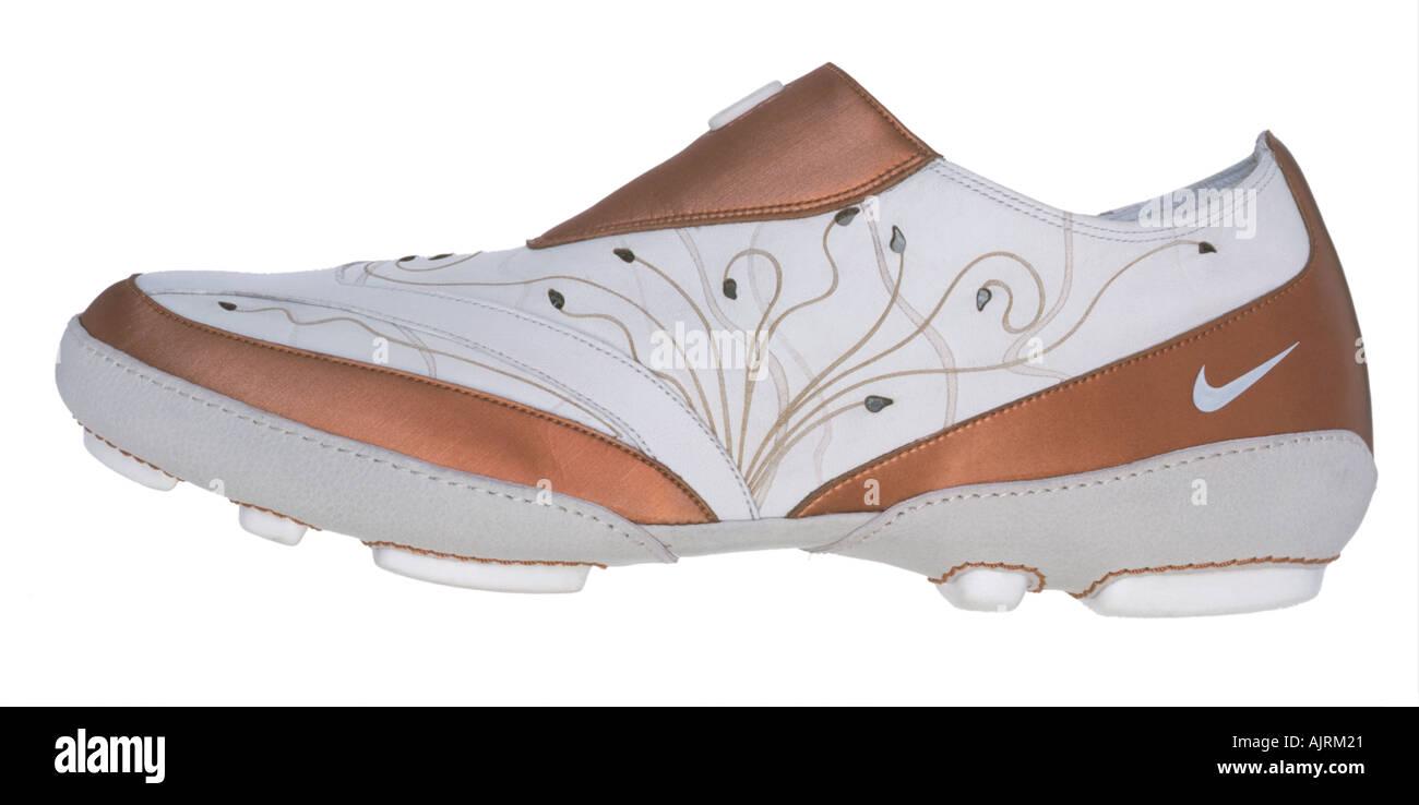 Nike ladies fashion sports shoe. Nike ladies fashion sports shoe Stock Photo