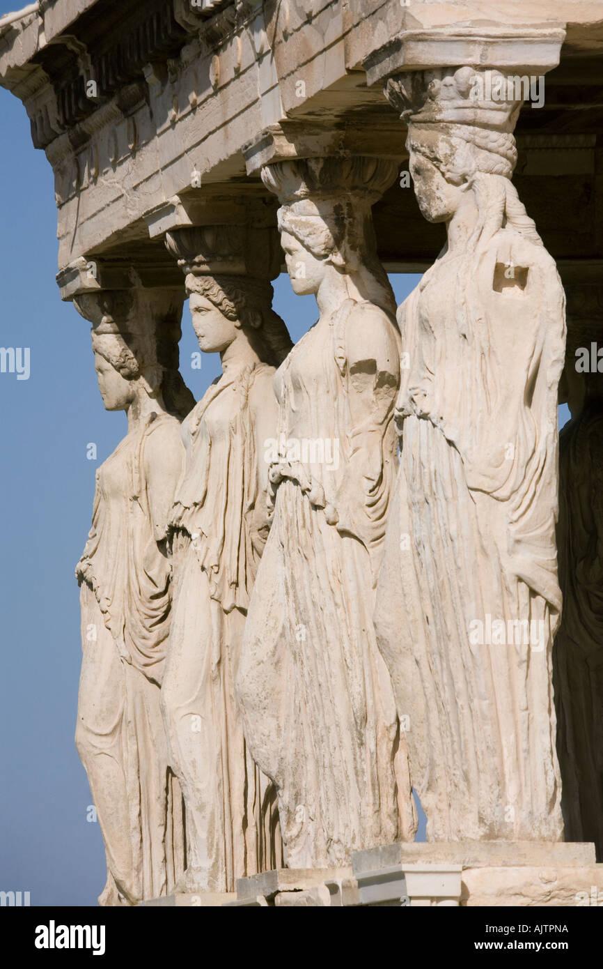 The Acropolis Athens The Erechtheion 420 403 Bc Porch Of