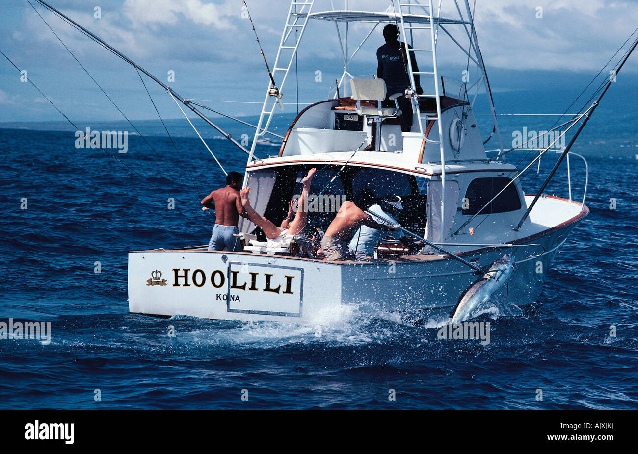 Game fishing boat australia off the queensland coast for Boat fishing games