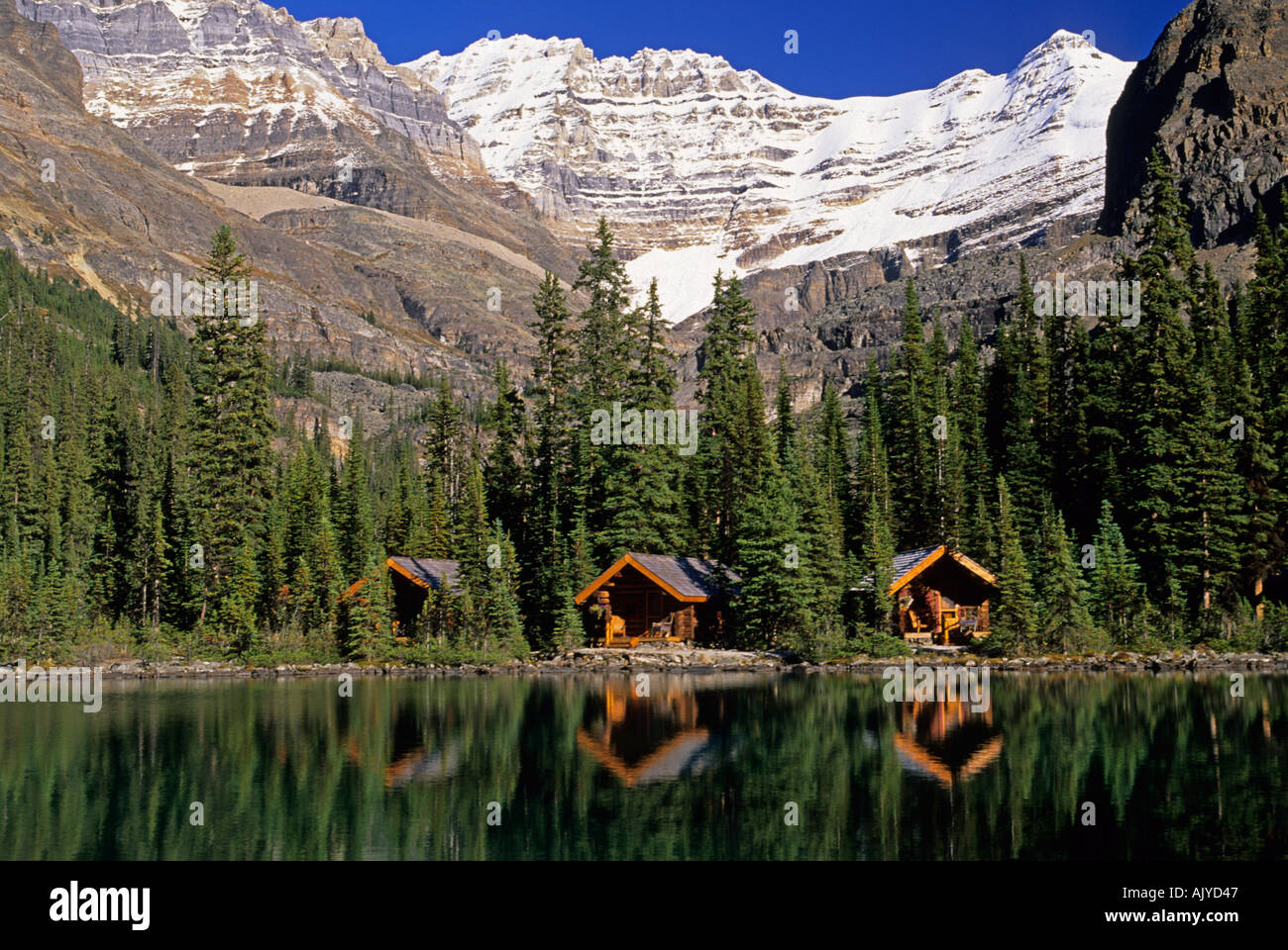 Cabins sargent s point lake o hara yoho national park for Lakes in bc with cabins