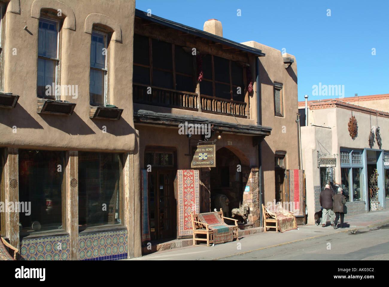 Furniture Store In Guadalupe Santa Fe New Mexico United States America USA