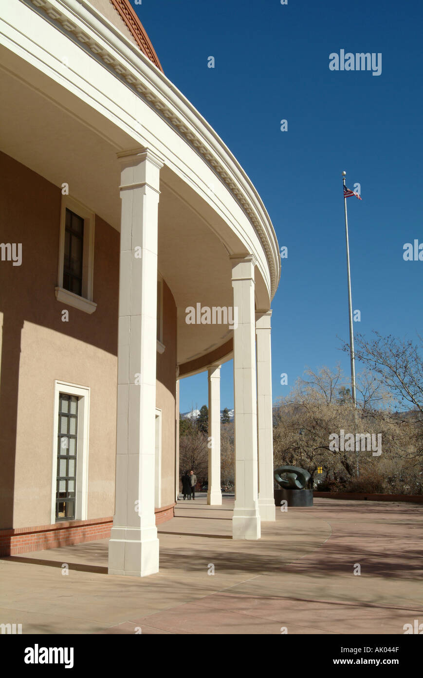 Part Of The State Capitol Building Santa Fe New Mexico United - Is new mexico part of the united states