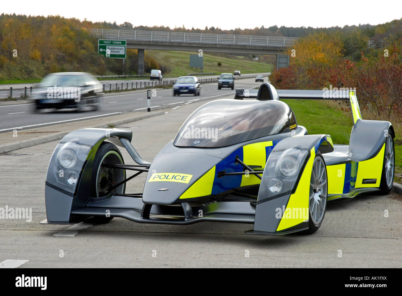 British Sports Cars For Sale >> Caparo T1 supercar with police markings, Britain, UK Stock Photo, Royalty Free Image: 14854321 ...