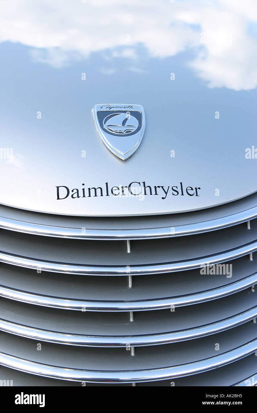 Chrysler car stock photos chrysler car stock images alamy car hood with daimler chrysler logo stock image biocorpaavc