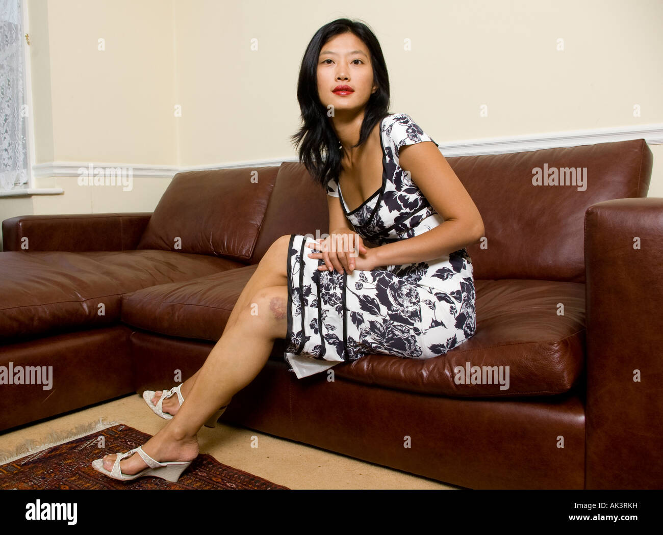 Mature women long legs
