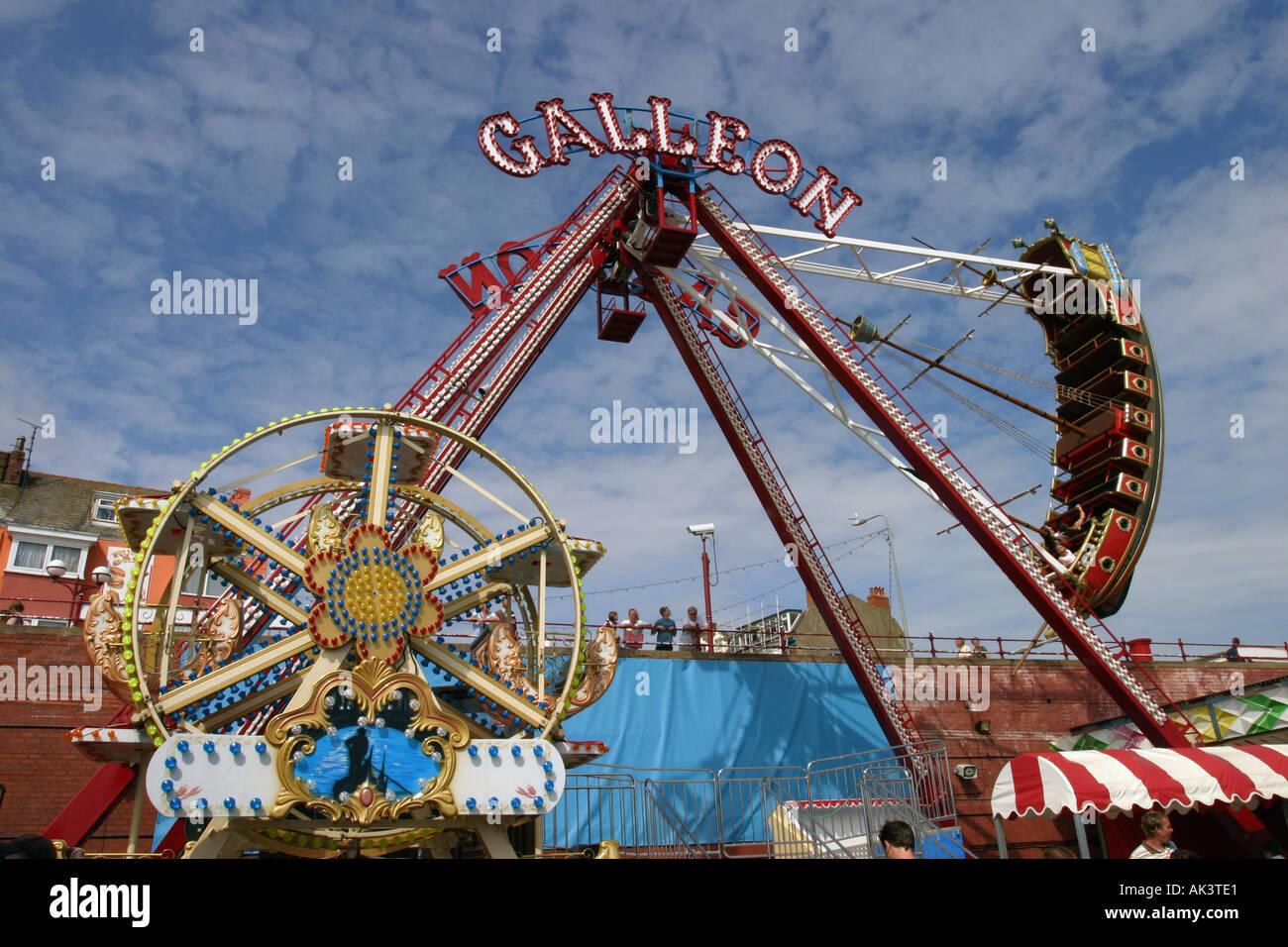 Vintage carnival ride www imgarcade com online image arcade - Filename Fun Fair Rides At The Sea Side Bridlington Uk Ak3te1 Jpg