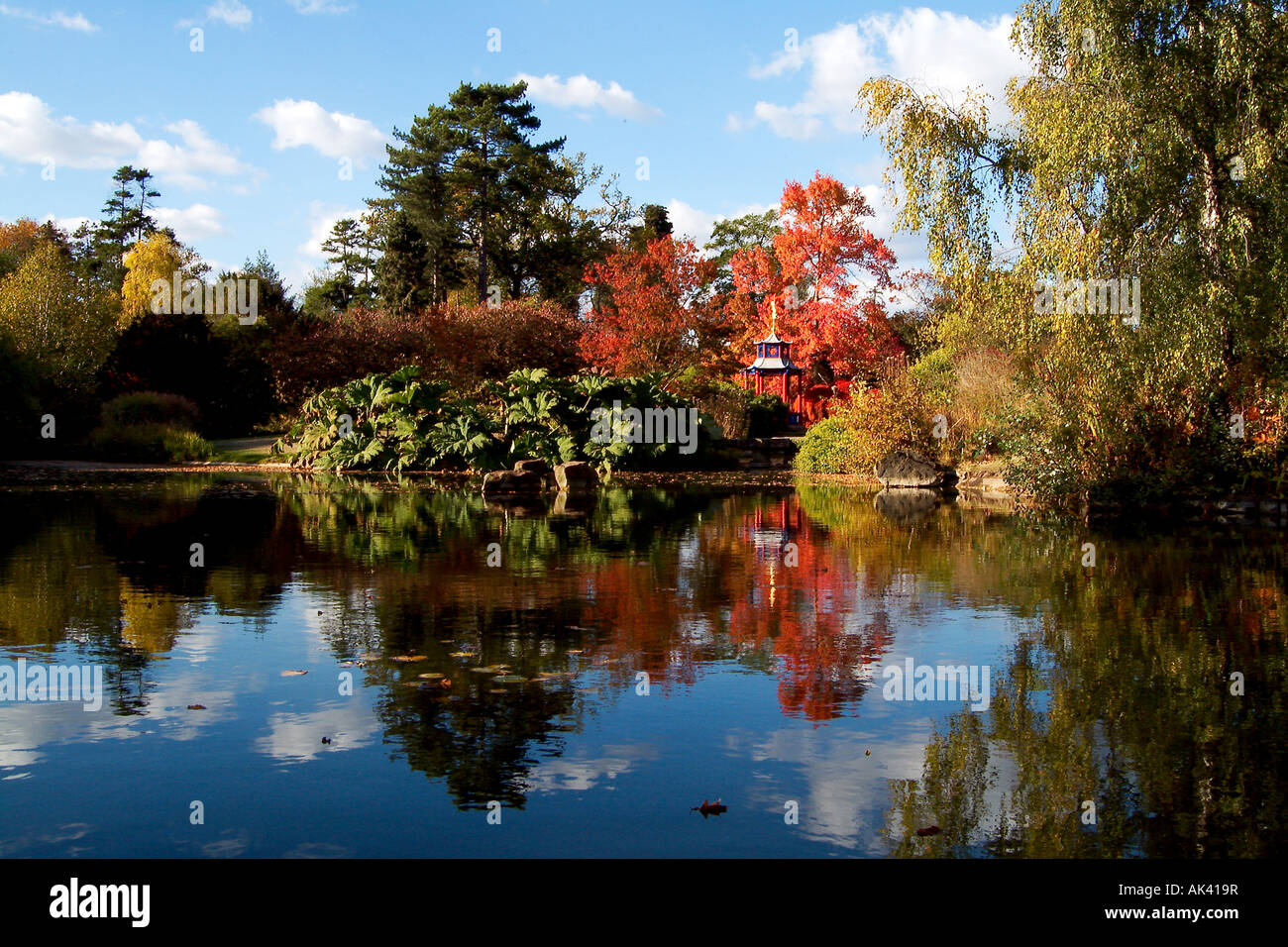 Japanese Water Gardens Cliveden Berkshire United Kingdom
