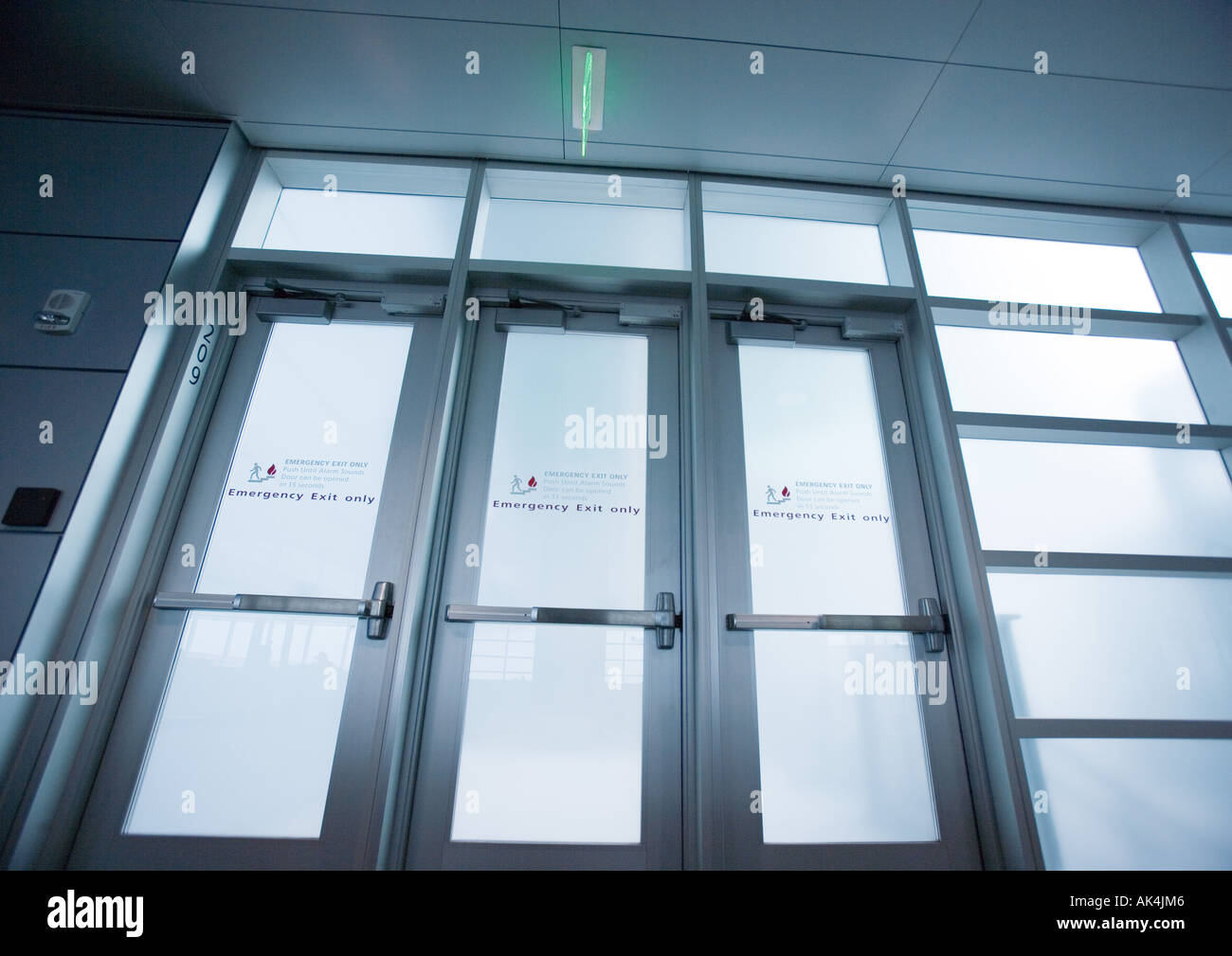 Emergency exit doors & Emergency exit doors Stock Photo: 8504773 - Alamy