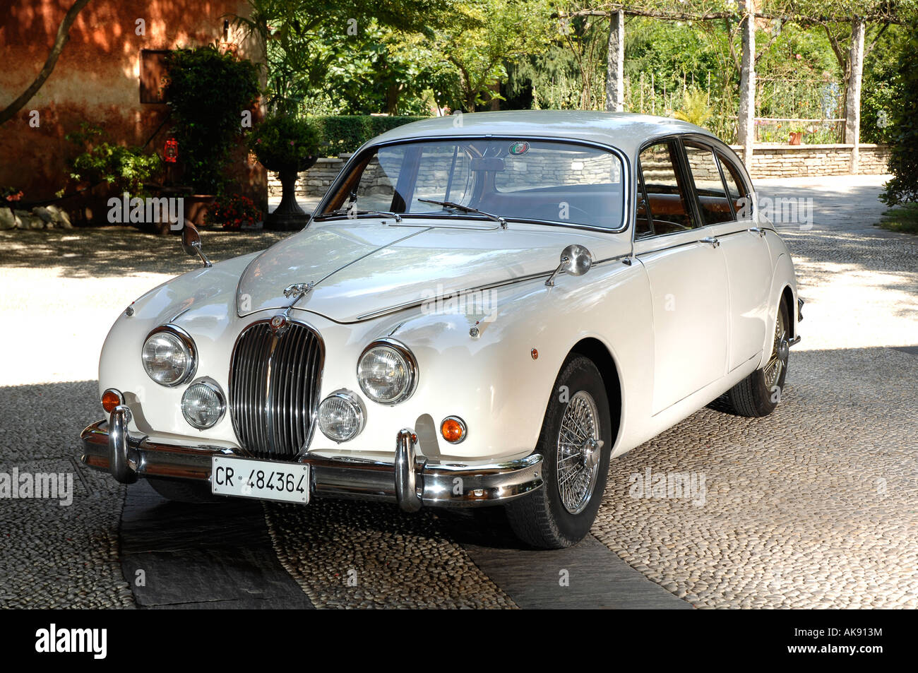 1963 Jaguar Mk2 35 Stock Photo, Royalty Free Image
