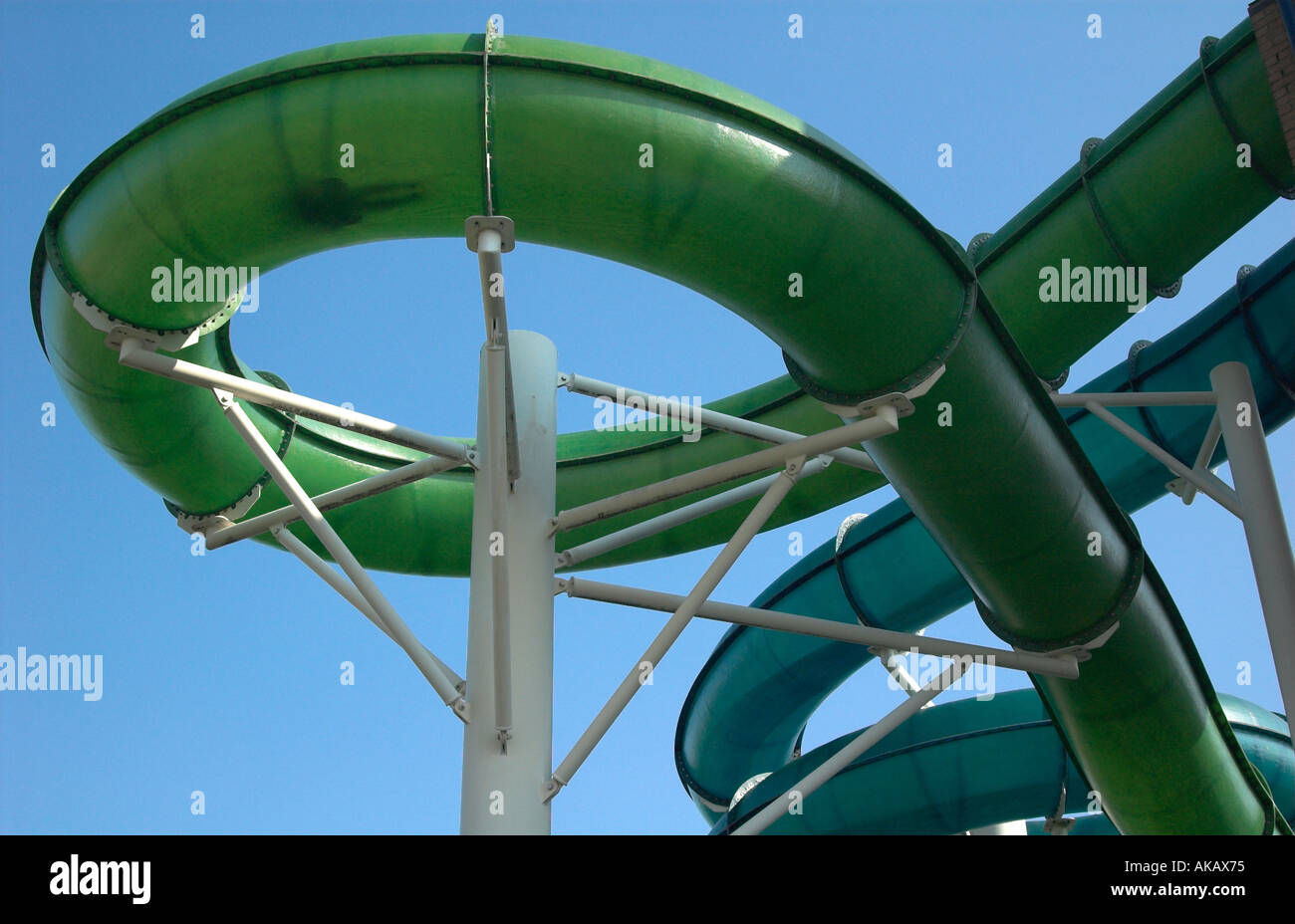 Water Slide At Colchester Leisure World Essex Stock Photo Royalty Free Image 4878964 Alamy