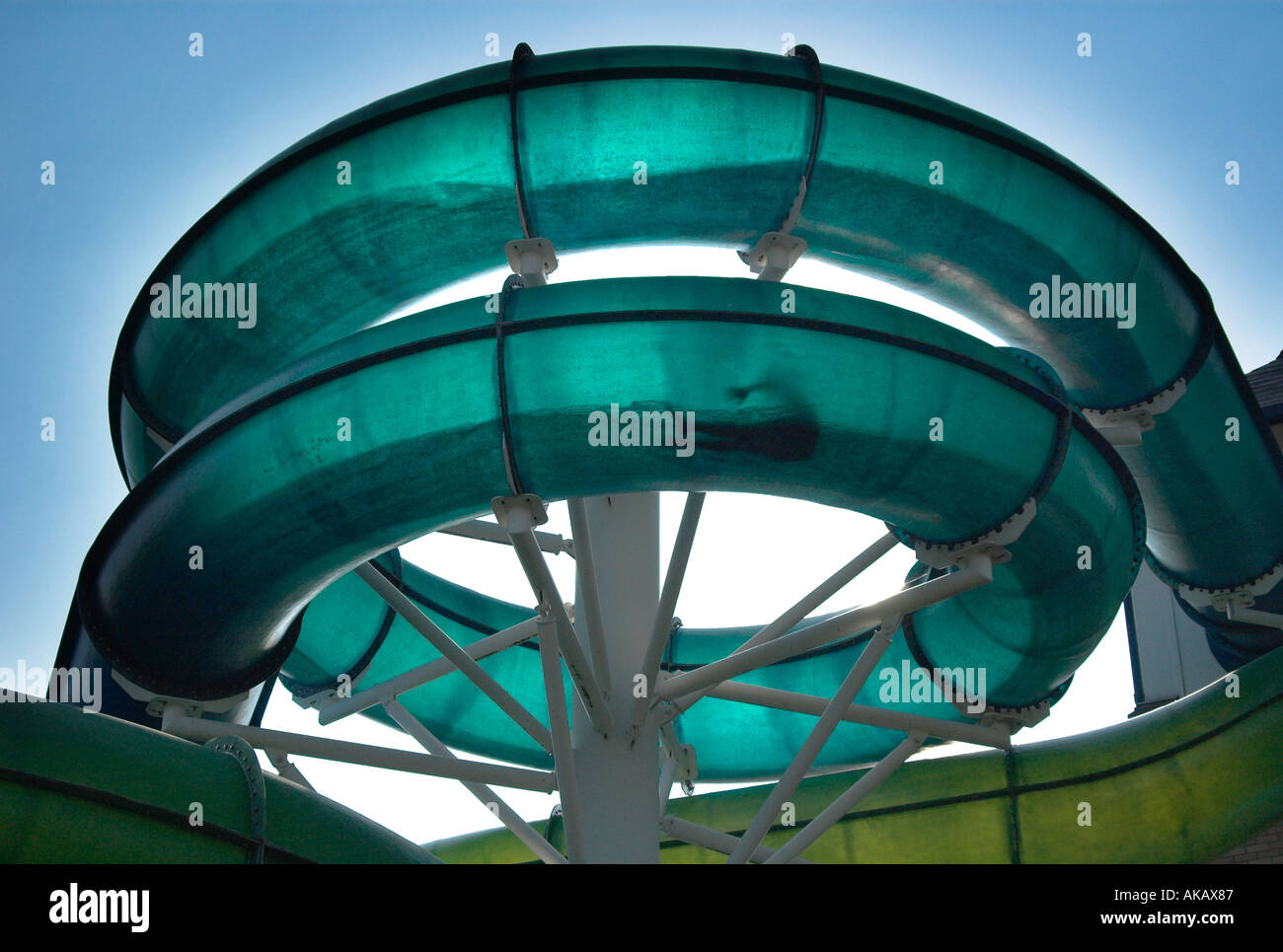 Water Slide At Colchester Leisure World Essex Stock Photo Royalty Free Image 4878982 Alamy