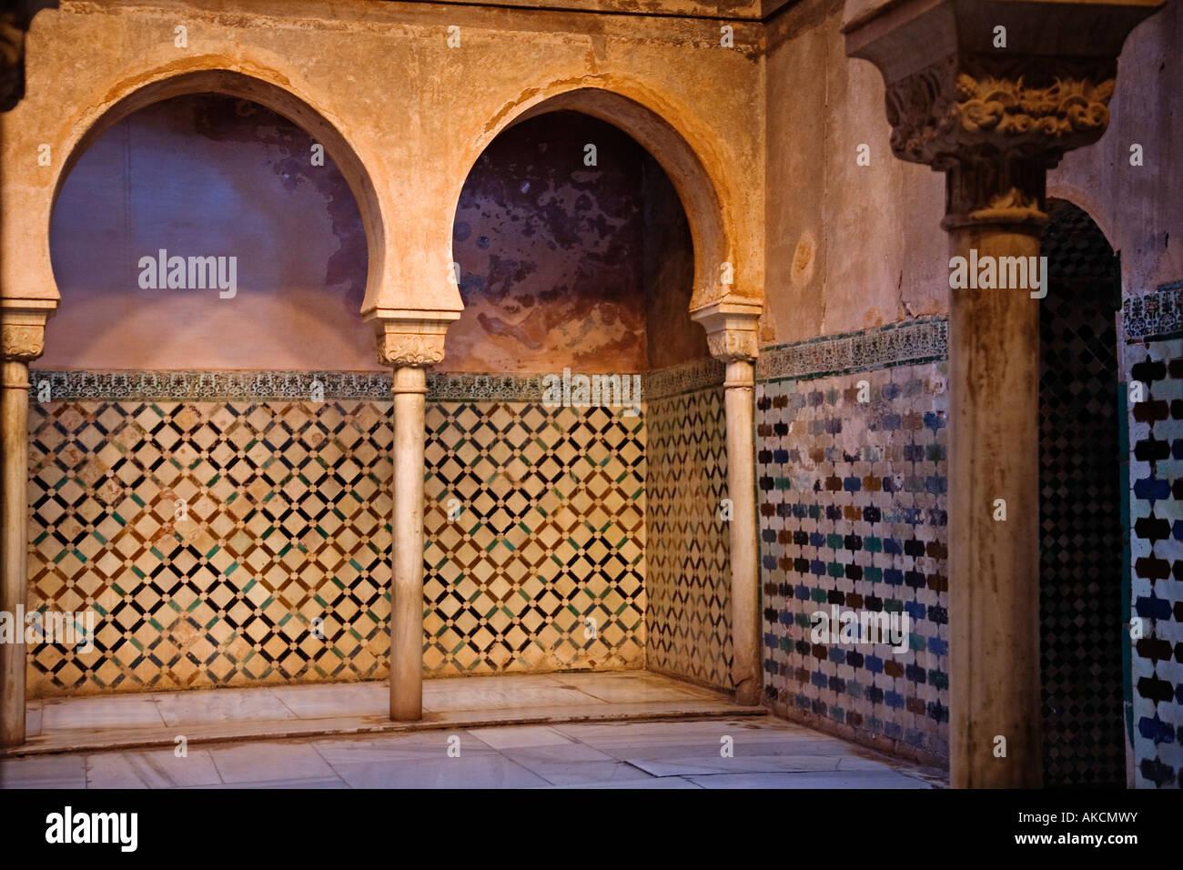 Baños Granada | Banos Arabes Alhambra Granada Andalucia Espana Alhambra Arab Stock