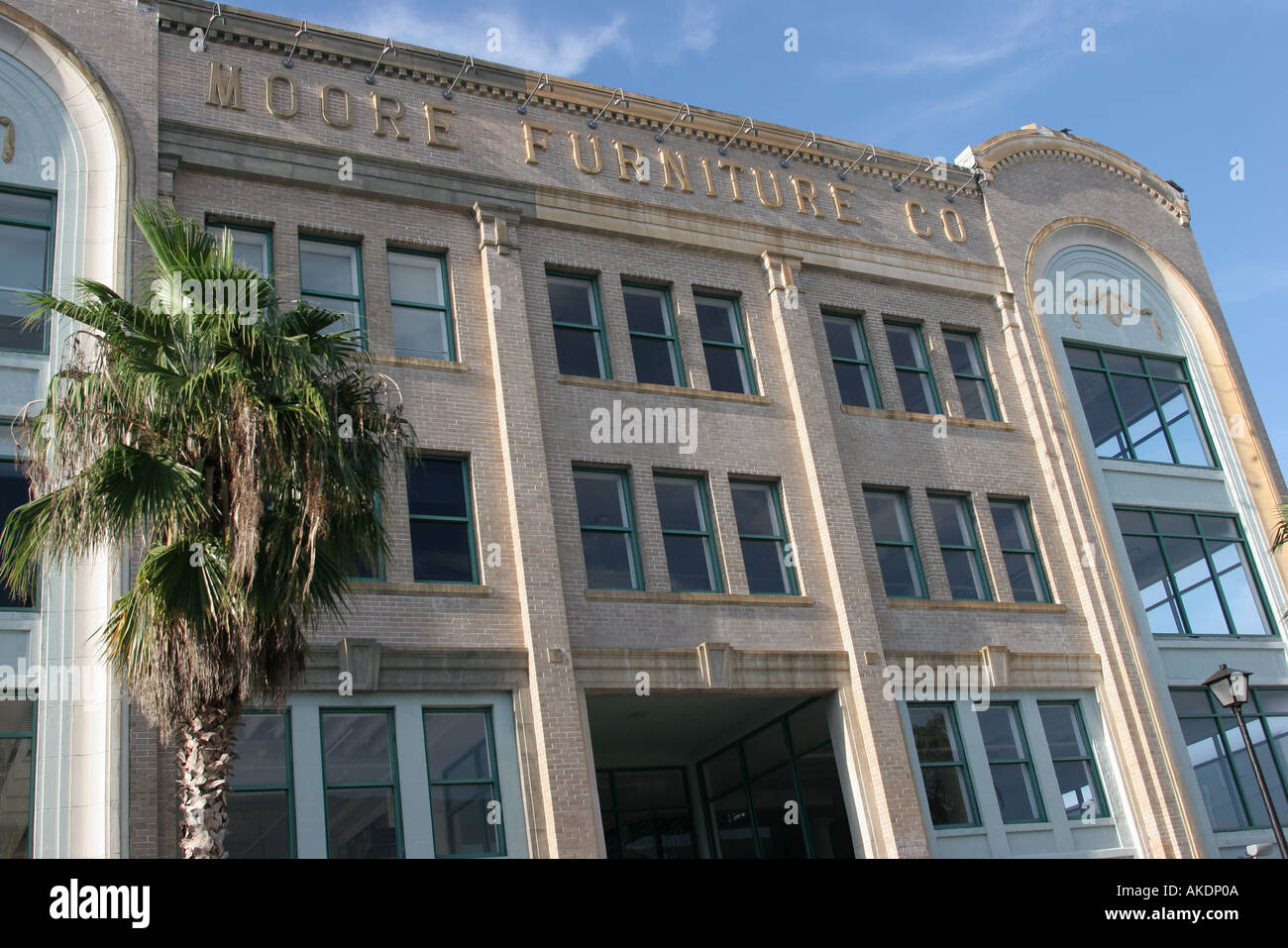 Miami Florida Design District Moore Furniture Company Restored Historic  Building